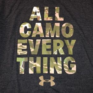 Under Armour All Camo Everything T-Shirt